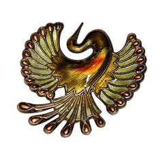 David Andersen Large Bird Brooch