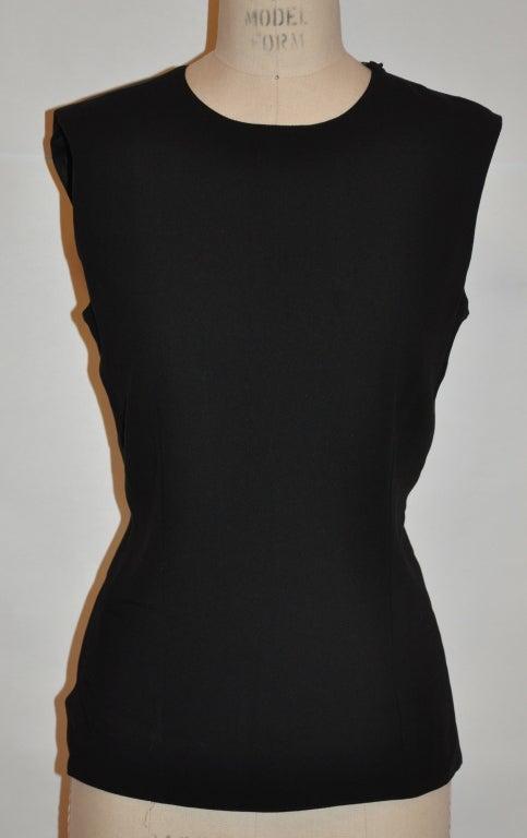 Ann Demeulemeester black backless top 2