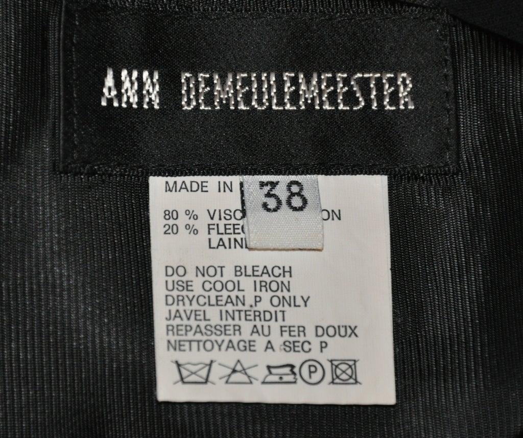 Ann Demeulemeester black backless top 5