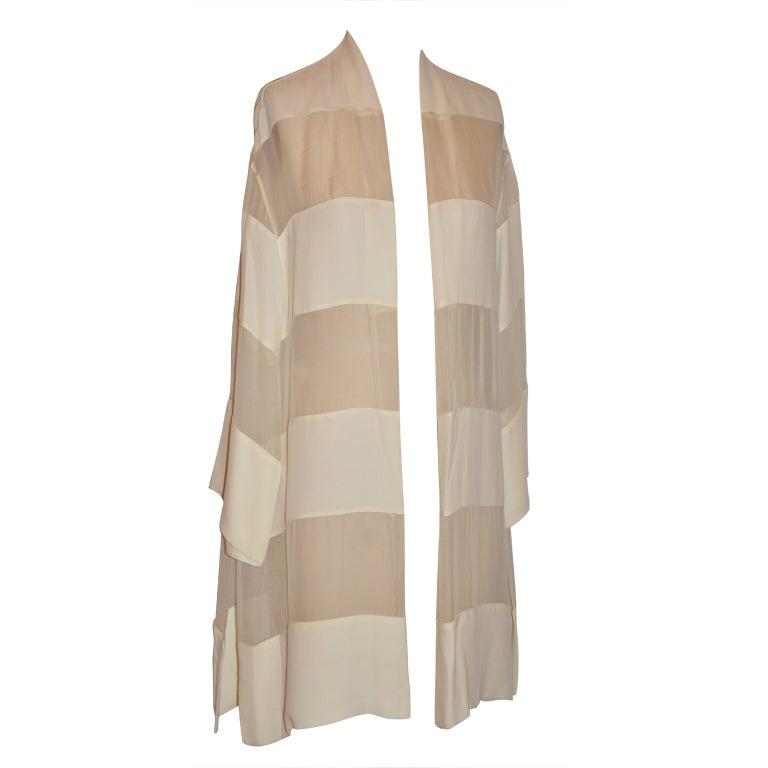 Alma Couture ivory kimono-style jacket