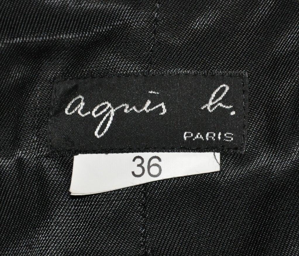 Ages B. wool plaid coat 5