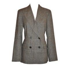 Ralph Lauren Spring wool plaid jacket
