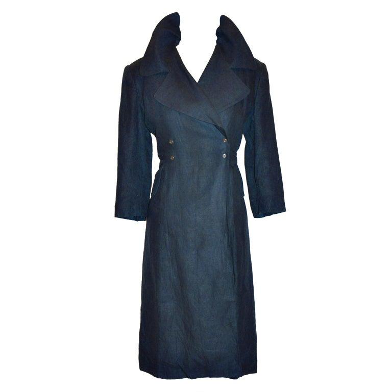 "Morgane Le Fay designed by Liliana Casabal ""Open-Back"" jacket"