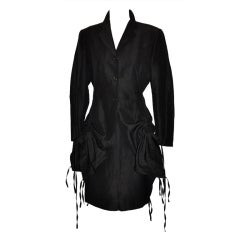JeanPaul Gaultier versatile asymmetric jacket with pencil skirt