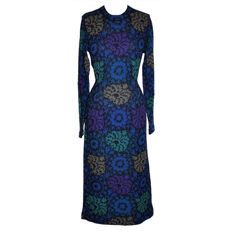 Missoni multi-colored floral dress