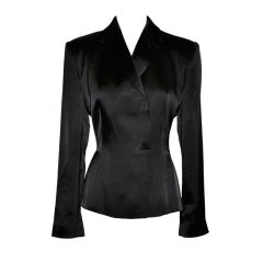 Giorgio Armani black evening jacket