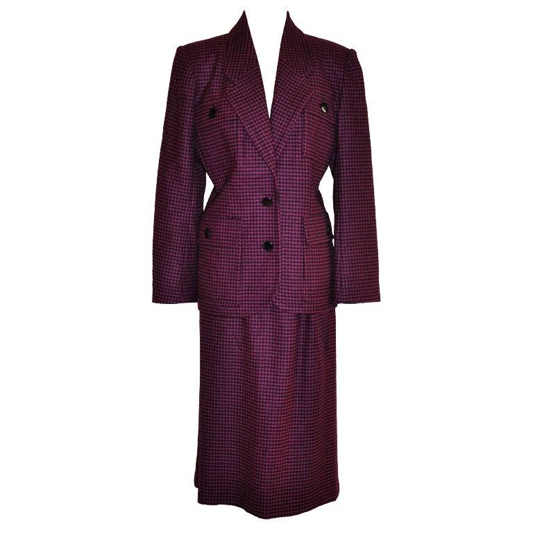 Pierre Balmain black & Purple ensemble