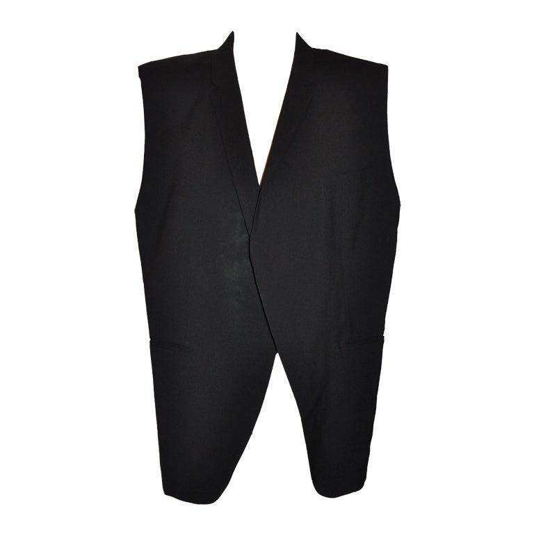 Comme des Garcons deconstructed tuxedo jacket