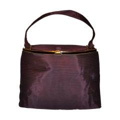 Koret pleated silk handbag