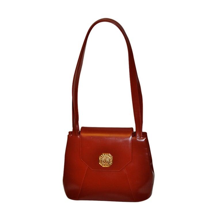 a6259e70f7 Yves Saint Laurent bordeaux shoulder bag For Sale at 1stdibs