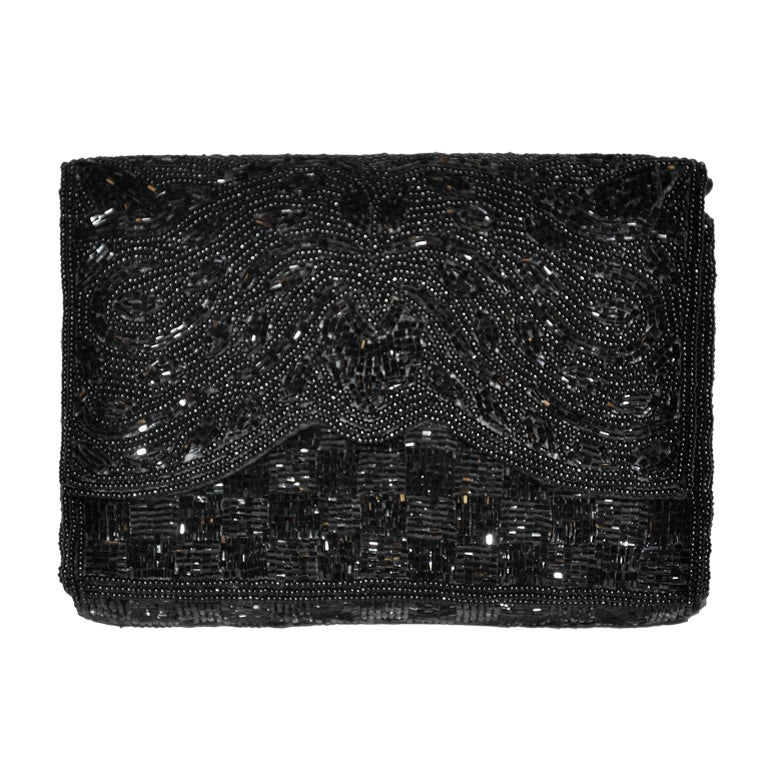 1stdibs Unusual Delill Beaded Filigree Clutch pulmIR