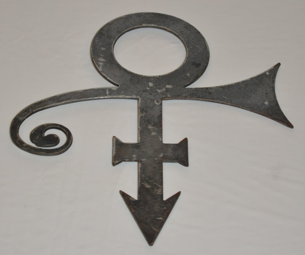 Prince Iconic Formerly Known As Prince Huge Pendant And Wall Piece
