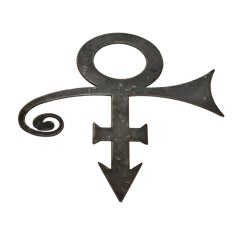 "Prince Iconic ""Formerly Known As Prince"" Huge Pendant & Wall Piece"