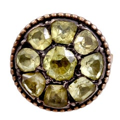 Antique Portuguese Chrysoberyl Ring