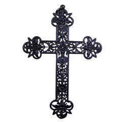Antique Berlin Iron Cross Pendant