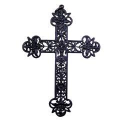 Antique Berlin Iron Cross Pendant