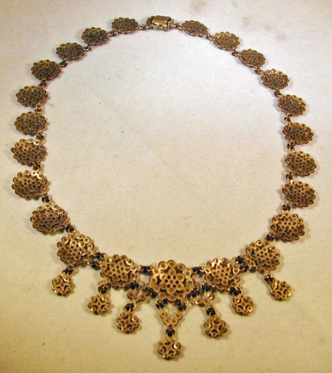 Antique Cut Steel Necklace 6