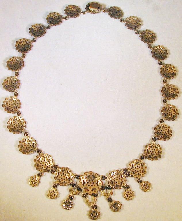 Antique Cut Steel Necklace 7