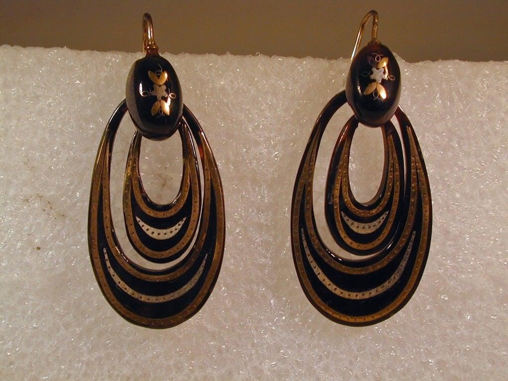Antique Pique Hoop Earrings 5