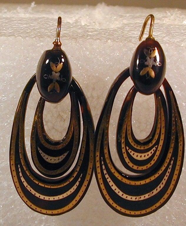 Antique Pique Hoop Earrings 6