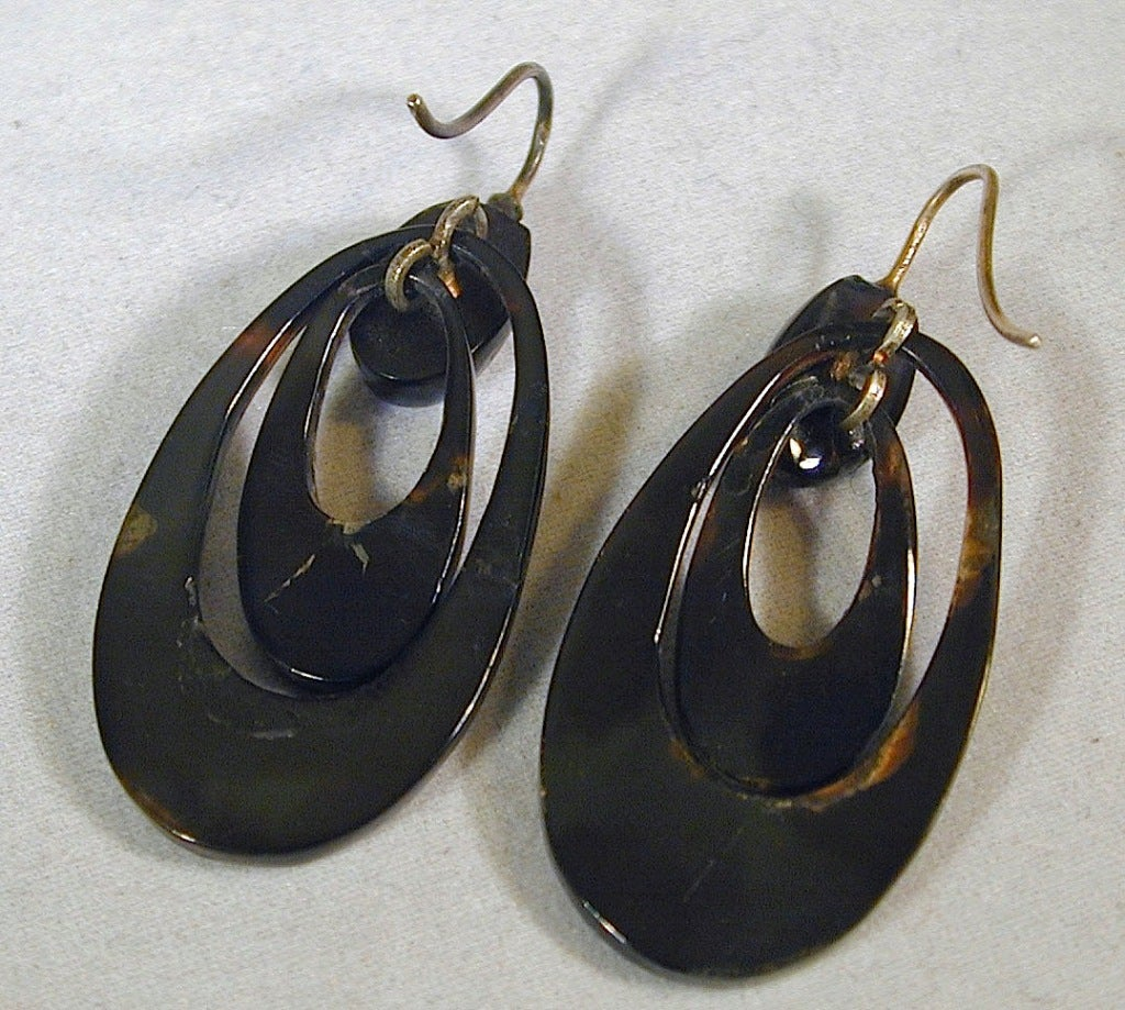 Antique Pique Hoop Earrings 7