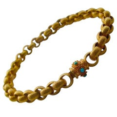 Rare Georgian Pinchbeck Necklace