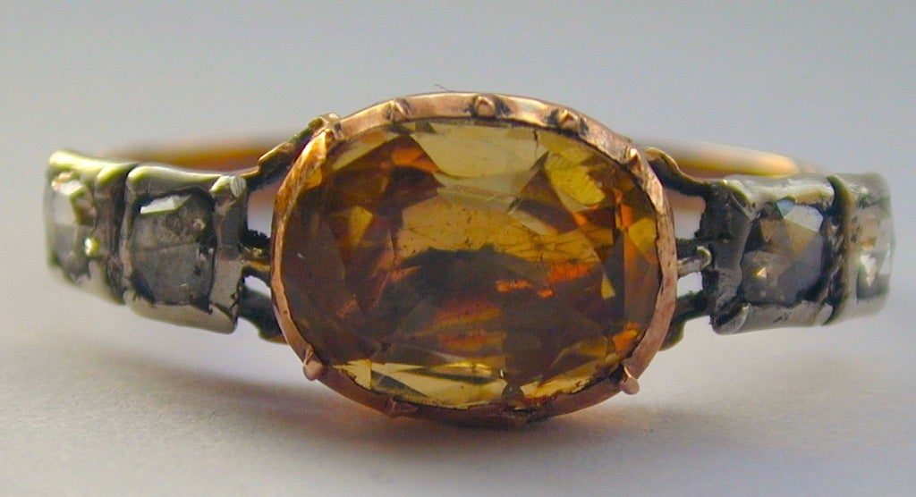 antique topaz and ring at 1stdibs
