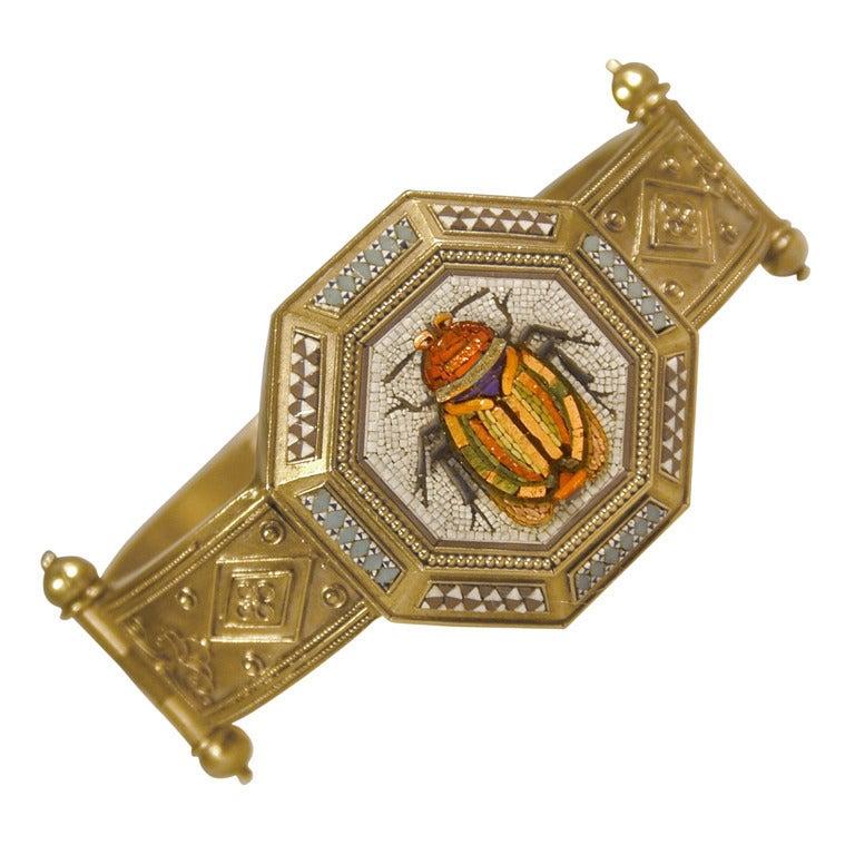 antique micro mosaic bracelet at 1stdibs