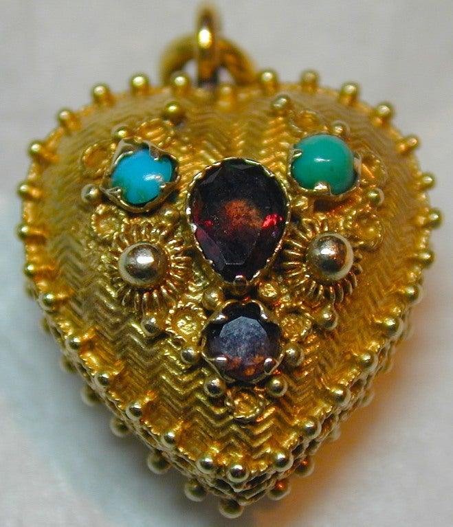 Antique Heart Locket 4