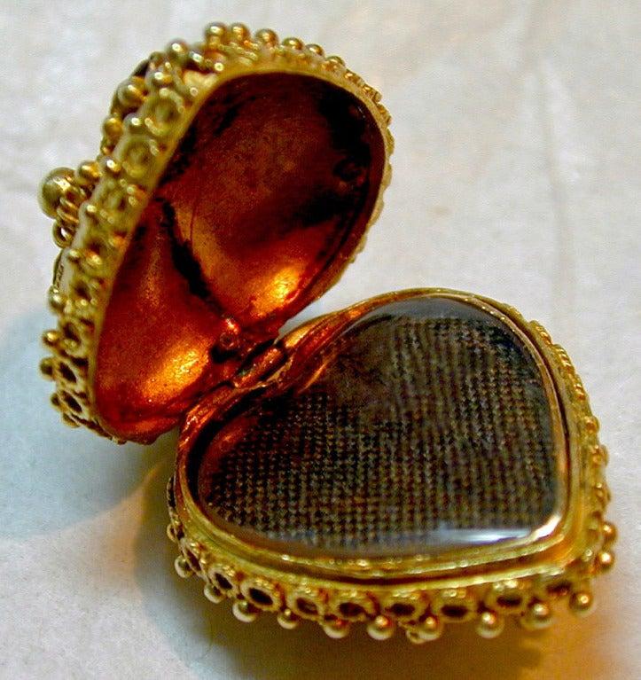 Antique Heart Locket 6