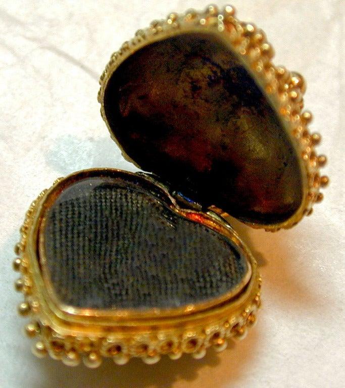 Antique Heart Locket 7