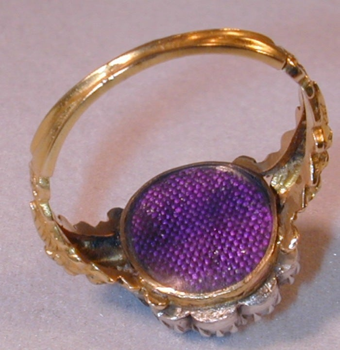 Extraordinary Early Victorian Diamond Cluster Ring 4