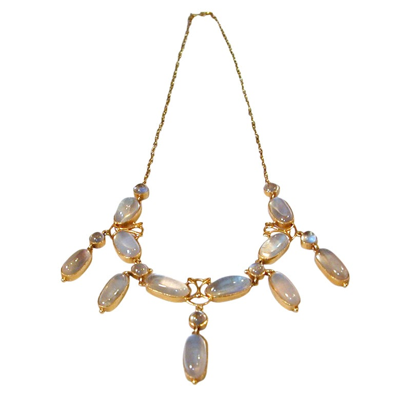 moonstone jewelry gold - photo #27