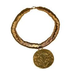 Zodiac Pendant Neckace, Coco Chanel, Goosens