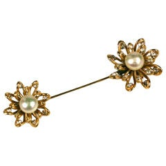 Chanel Looped Flower Jabot Brooch: Workshop Goossens