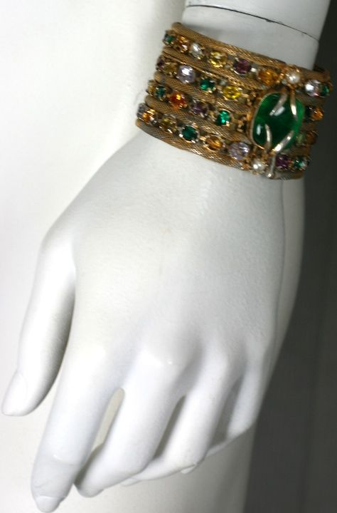 Important Jewelled Bracelet, Property Of Coco Chanel 6