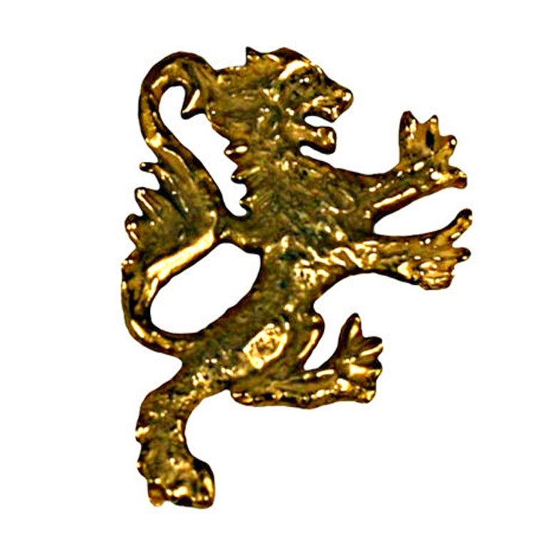 Coco Chanel Lion Crest: Goossens For Sale