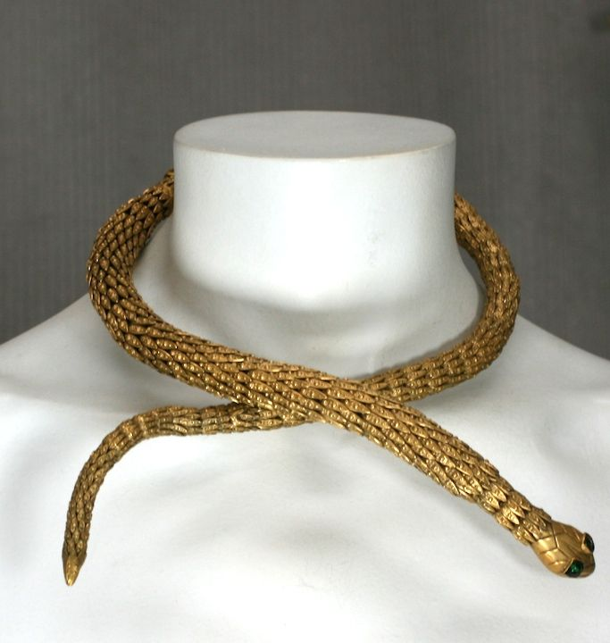 Important  Chanel Serpent Necklace, Workshop: Goossens 5