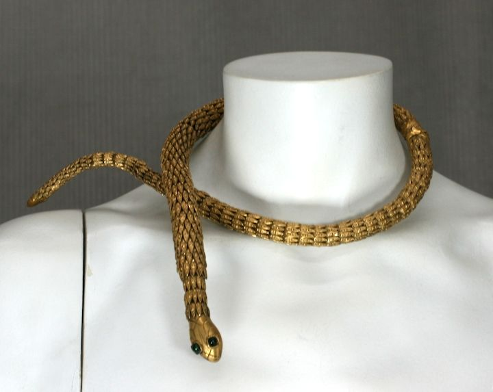 Important  Chanel Serpent Necklace, Workshop: Goossens 6