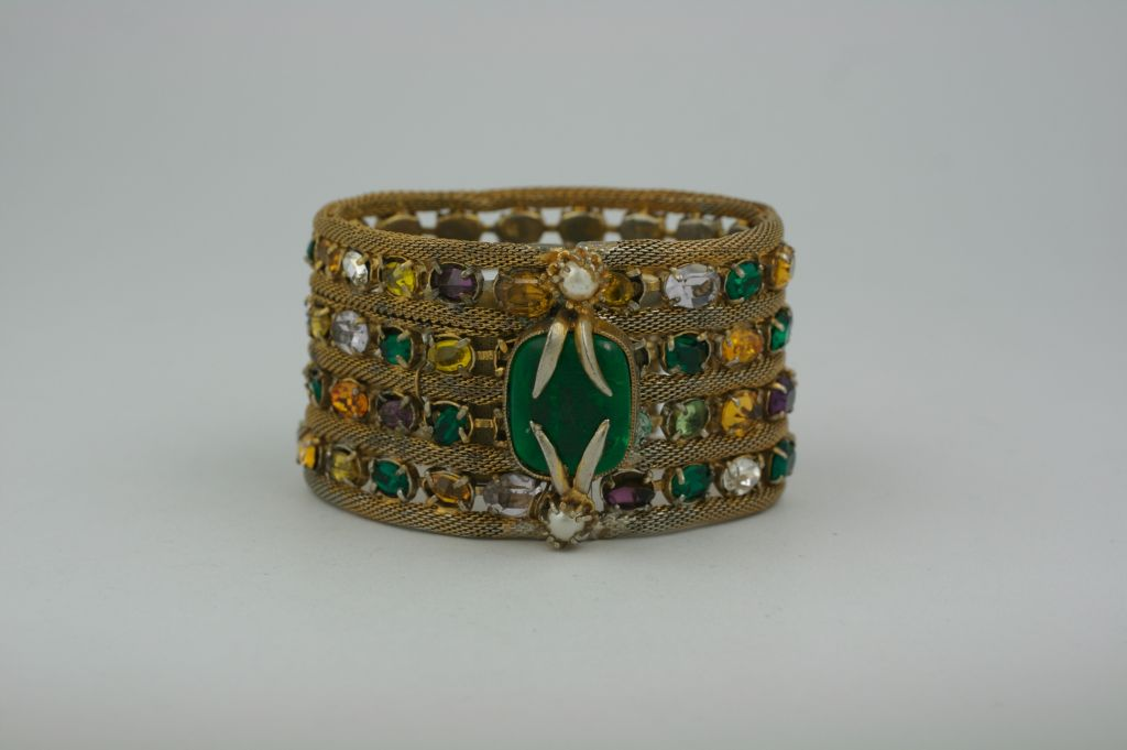 Important Jewelled Bracelet, Property Of Coco Chanel 3