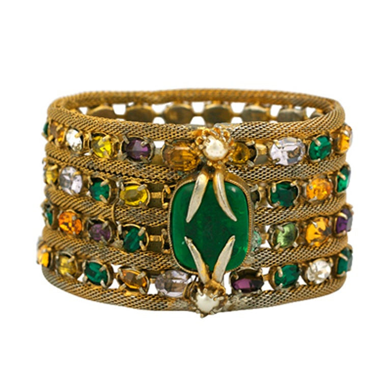 Important Jewelled Bracelet, Property Of Coco Chanel 1