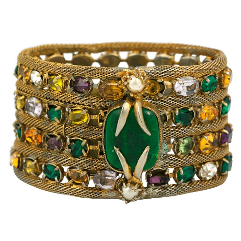 Important Jewelled Bracelet, Property Of Coco Chanel 2