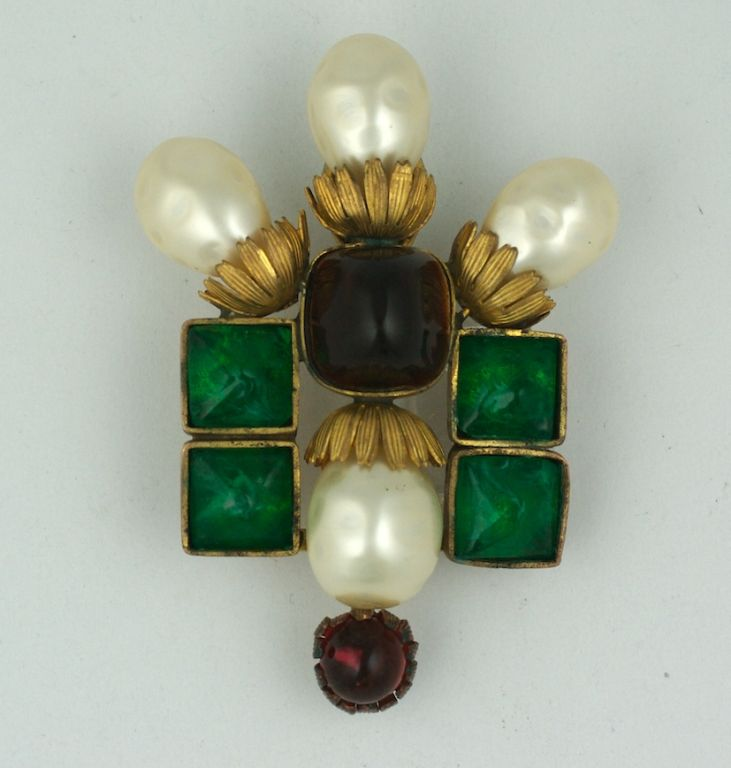 Important  Byzantine Style Brooch, Property of Coco Chanel 2