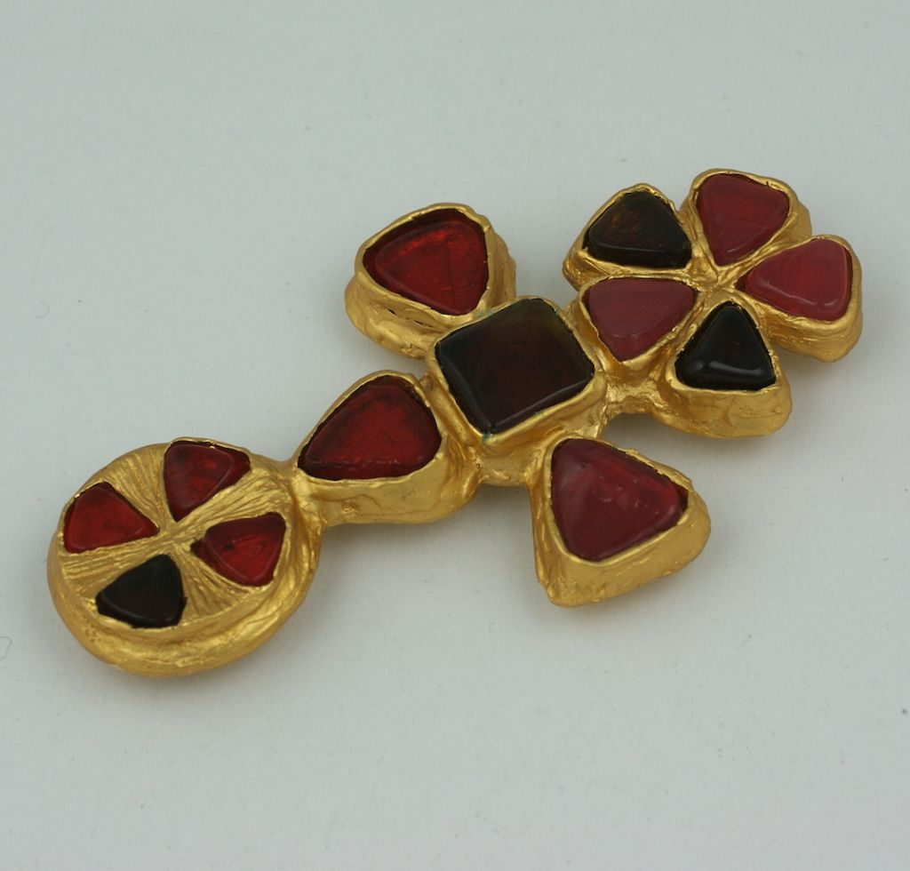 Chanel Cruciform Byantine Brooch, Property of Coco Chanel In Excellent Condition For Sale In Riverdale, NY