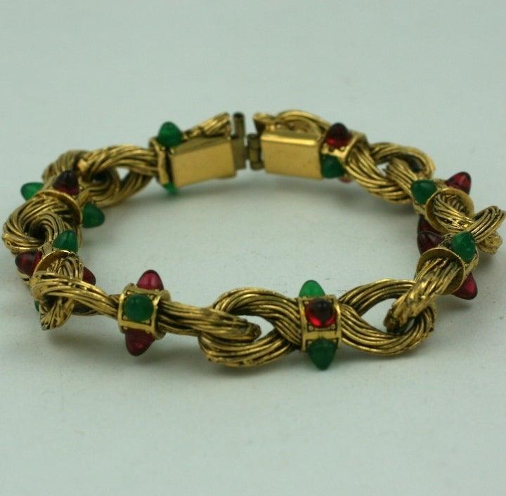 Chanel Byzatine Knot Link Bracelet 2