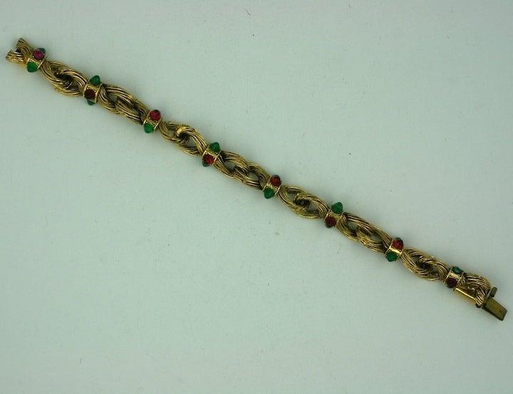 Chanel Byzatine Knot Link Bracelet 3