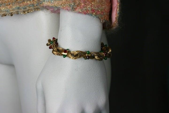 Chanel Byzatine Knot Link Bracelet 4