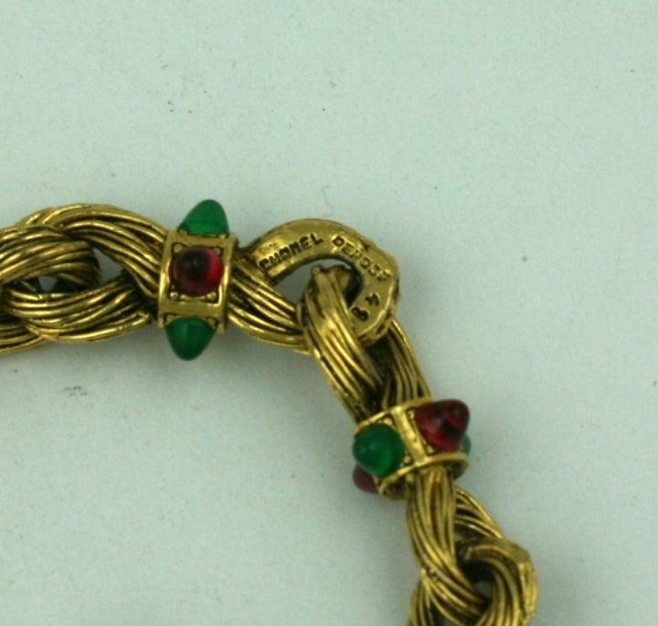 Chanel Byzatine Knot Link Bracelet 5