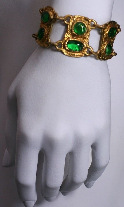 Women's Chanel Baroque Link Bracelet, Workshop Goossens For Sale