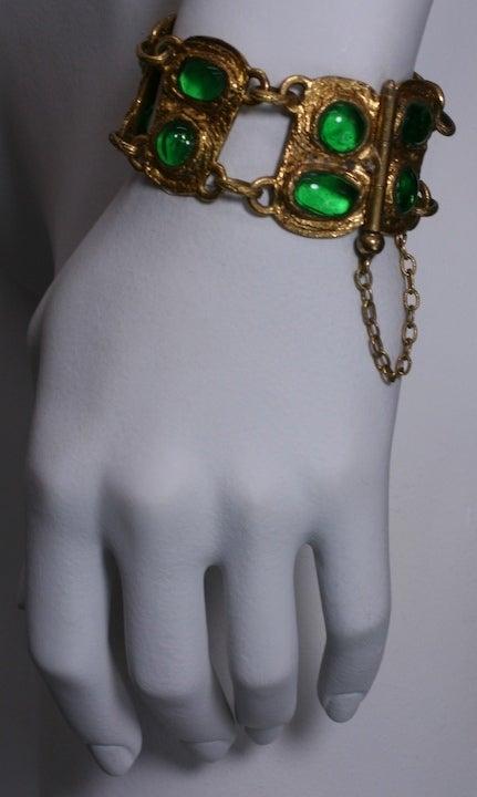 Chanel Baroque Link Bracelet, Workshop Goossens For Sale 1